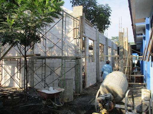 Pembangunan Ruang Praktik Siswa (RPS) Tahun 2017