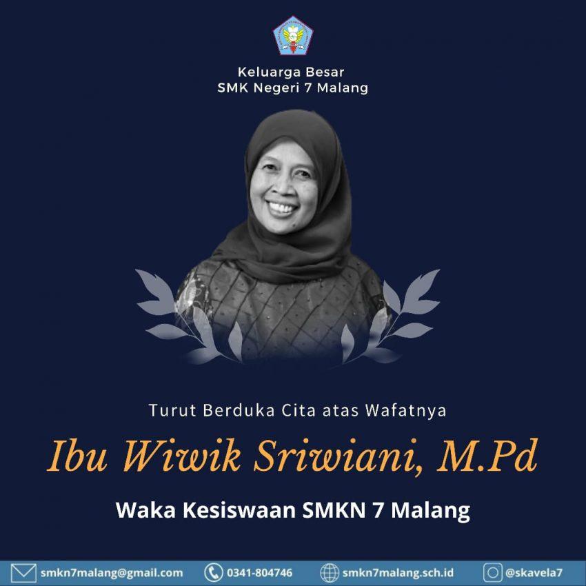 Kabar Duka, Guru Senior SMKN 7 Malang Meninggal Dunia